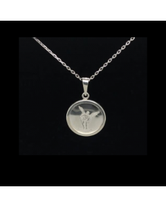 Michael Simplicity Necklace, Sterling Silver