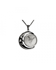 Michael Moon Necklace, Sterling Silver