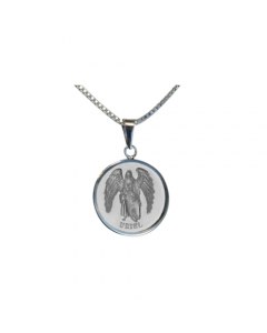 Uriel Simplicity Necklace, Sterling Silver